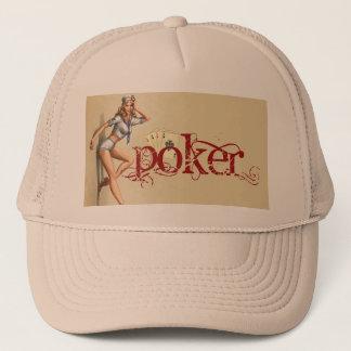 """Boné Mulher """"sexy"""" do póquer"""