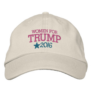 Boné Mulheres para Donald Trump - presidente 2016