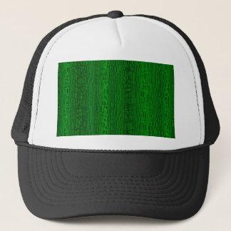 Boné Multi fundo da cor verde