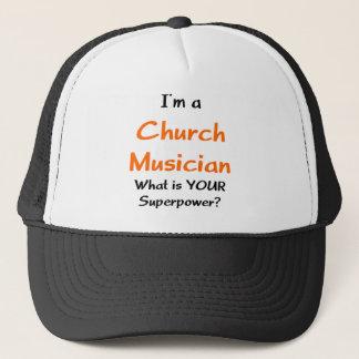 Boné músico da igreja