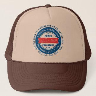 Boné N.A.P.E. Chapéu do camionista de Tan/Brown