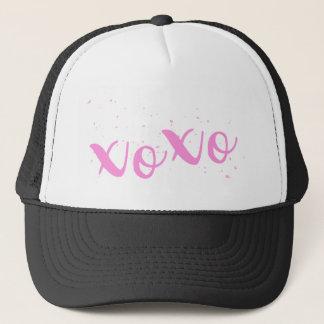 Boné Na moda xoxo-Cor-de-rosa
