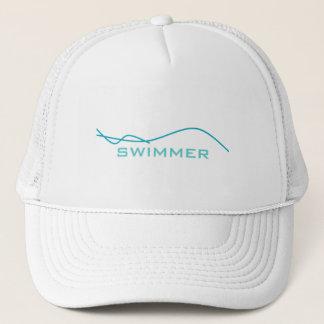 Boné Nadador abstrato