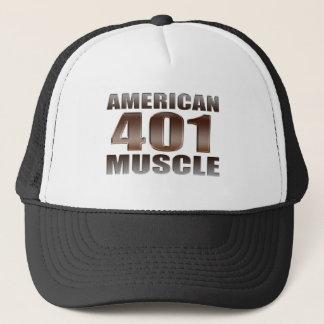 Boné nailhead americano do músculo 401
