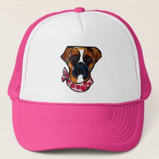 Boné Namorados do cão do pugilista