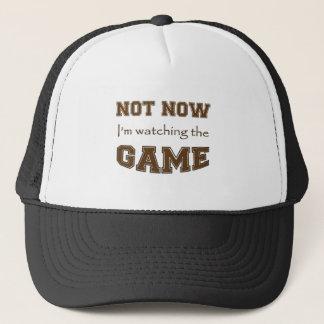 Boné Não agora eu estou olhando The Game