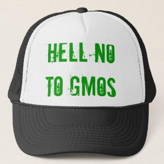 Boné Não ao chapéu dos GMOs