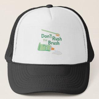 Boné Não apresse a escova