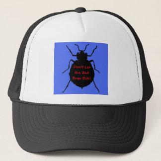 Boné Não deixe a mordida dos insetos de cama