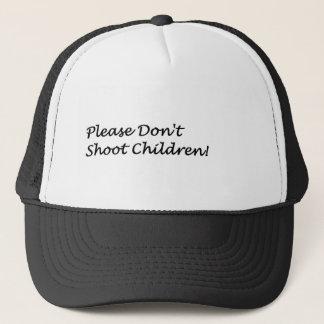 Boné Não dispare