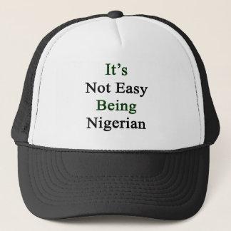 Boné Não é ser fácil nigeriano