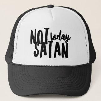 Boné Não hoje chapéu do camionista da satã