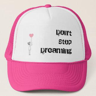 Boné Não pare de sonhar