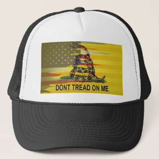 Boné Não pise em mim o chapéu do camionista