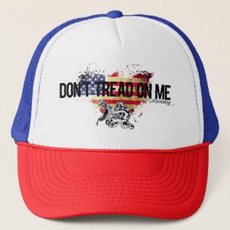 Boné Não pise em mim o chapéu do cobra da camisa da