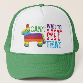 Boné Não pode esperar para bater esse arco-íris
