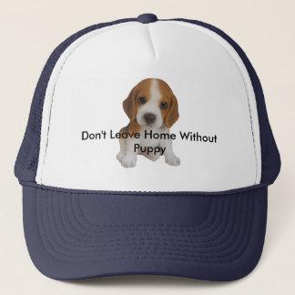 Boné Não saa em casa sem o chapéu do filhote de