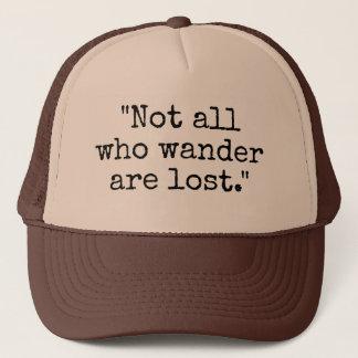 Boné Não tudo que Wander é chapéu perdido do camionista