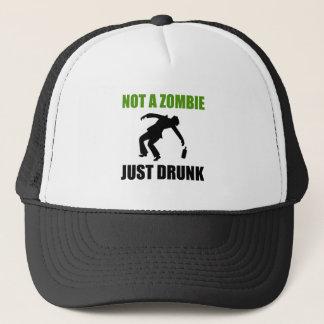 Boné Não zombi apenas bêbedo