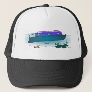 Boné Narrowboat afundado