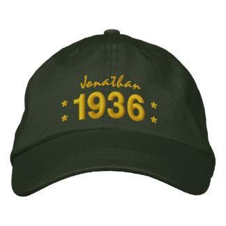 Boné Nascer em 1936 ou algum VERDE do aniversário V07A
