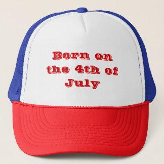 Boné Nascer no 4o julho