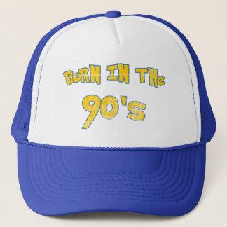 Boné Nascer nos anos 90 - olhar vestido