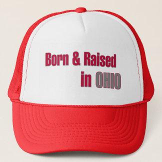 Boné Nascido & aumentado no chapéu de Ohio (vermelho &