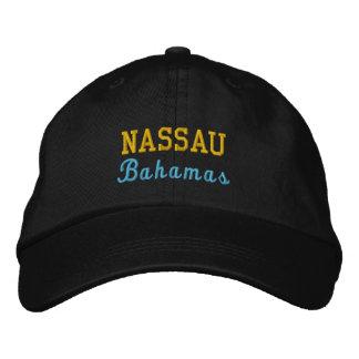 Boné Nassau, Bahamas personalizou o chapéu ajustável