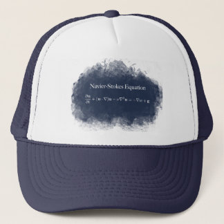 Boné Navier Stokes o chapéu do camionista da matemática