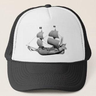 Boné Navio cinzento do fantasma