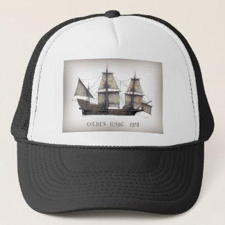 Boné Navio de Hinde do ouro 1578
