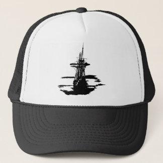 Boné navio de pirata