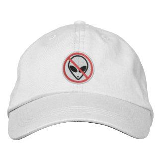 Boné Nenhum aliens personalizou o chapéu ajustável