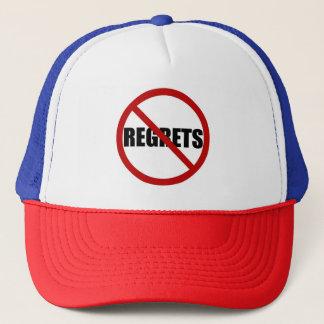 Boné Nenhum chapéu da tipografia do sinal dos pesares