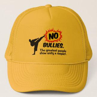 Boné Nenhum chapéu das intimidações