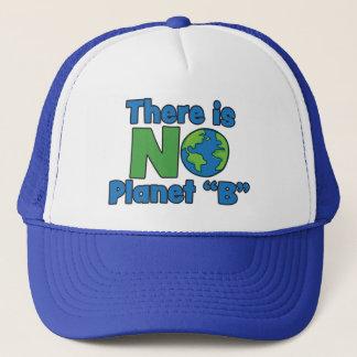 Boné Nenhum chapéu do camionista do planeta B