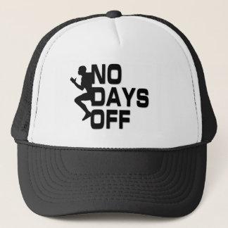 Boné NENHUM chapéu do camionista dos DIAS LIVRES