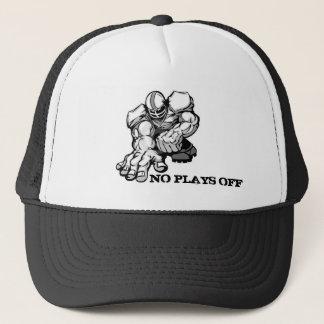Boné Nenhuns jogos fora do chapéu de basebol do