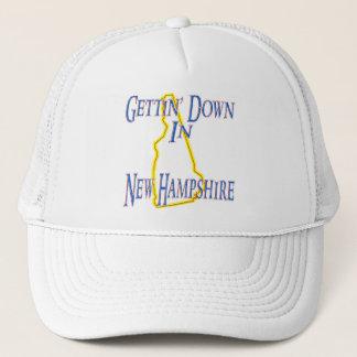 Boné New Hampshire - Getting para baixo