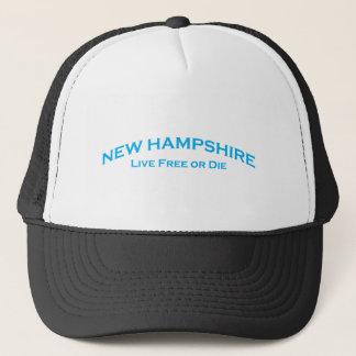 Boné New Hampshire - livre vivo ou morre
