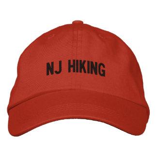 Boné NJ que CAMINHA o chapéu ajustável