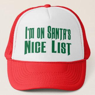 Boné No chapéu engraçado do camionista da lista