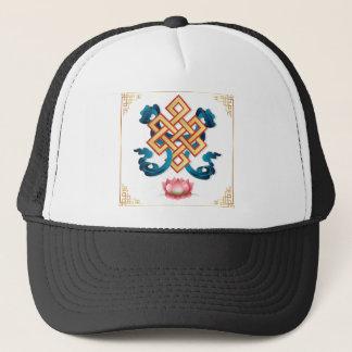 Boné Nó infinito do símbolo da religião do Mongolian