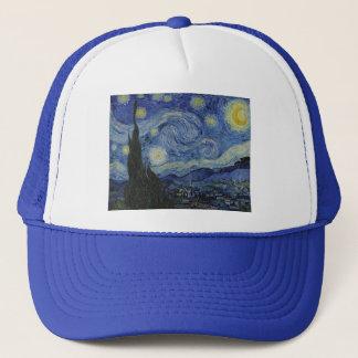 Boné Noite estrelado por Vincent van Gogh - 1889
