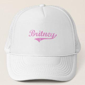 Boné Nome clássico do estilo de Britney