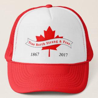 Boné Norte verdadeiro de Canadá forte e livre