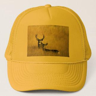 Boné Nos cervos de mula da vigia