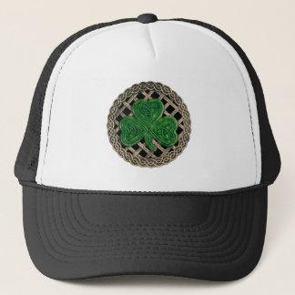 Boné Nós do trevo, da estrutura e do céltico no chapéu