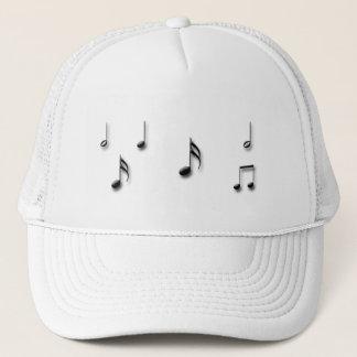 Boné Notas musicais